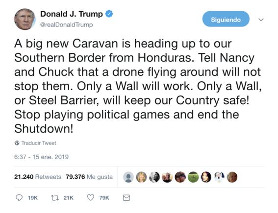 avanza hacia eua nueva caravana migrante 3
