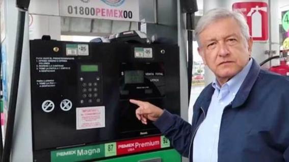 amlo reducira a fin de mes los costos de la gasolina 1
