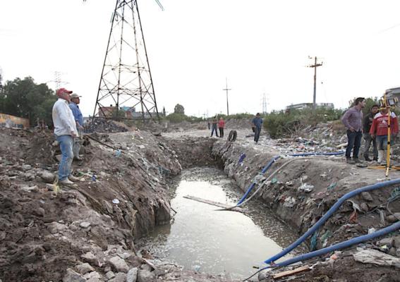 nueve anos despues autoridades detectan fuga de agua en ecatepec 2