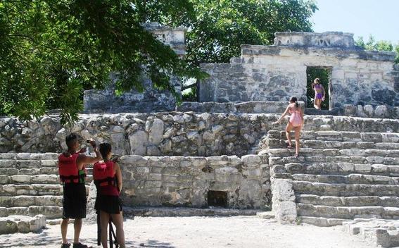 xcaret ruinas arqueologia parque turistico 2