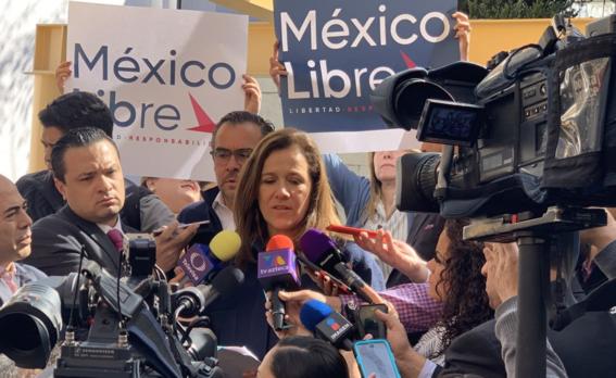 margarita zavala solicita registro de partido mexico libre 1