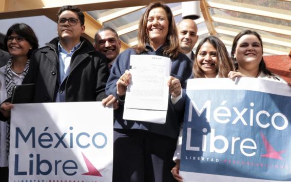 margarita zavala solicita registro de partido mexico libre 2