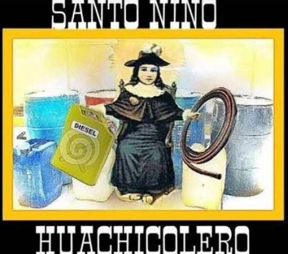 la iglesia catolica condena al santo nino huachicolero 3