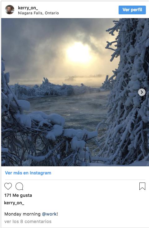 cataratas del niagara congeladas fotografias 1