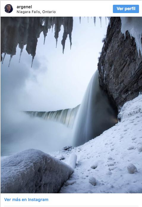 cataratas del niagara congeladas fotografias 5