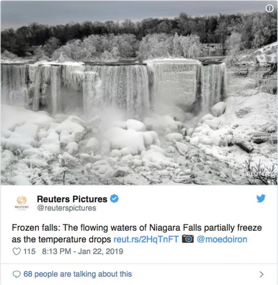 cataratas del niagara congeladas fotografias 7