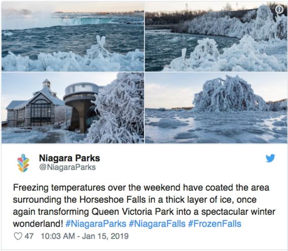 cataratas del niagara congeladas fotografias 8