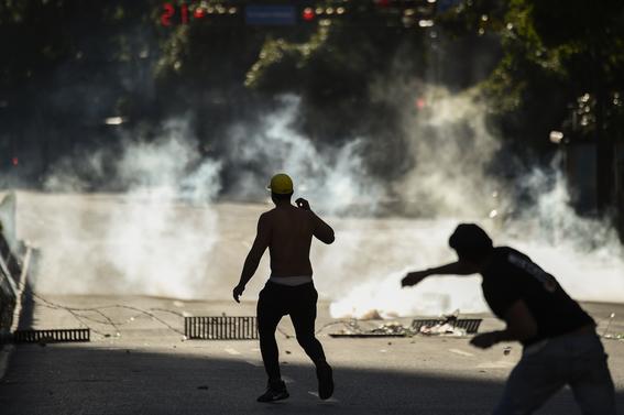 muertos en protestas de venezuela 1