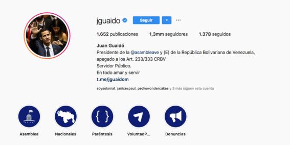 Instagram desmiente haberle quitado la insignia de verificación a Maduro
