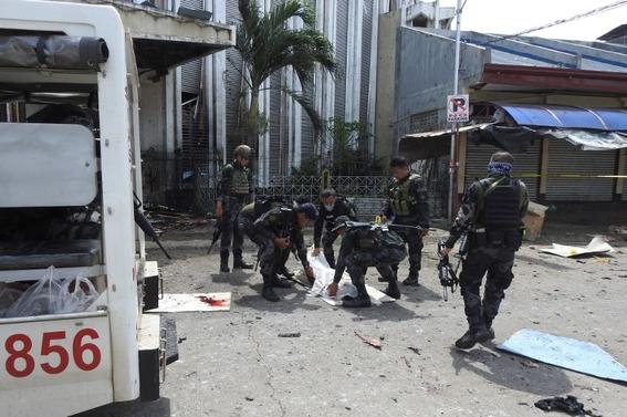 atentado en catedral de filipinas 1