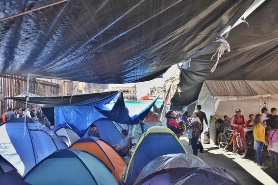 protesta cnte en michoacan 2