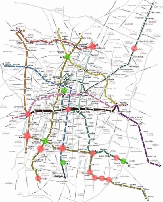 ciudadanos crean mapa para evitar intentos de secuestro en el metro 2