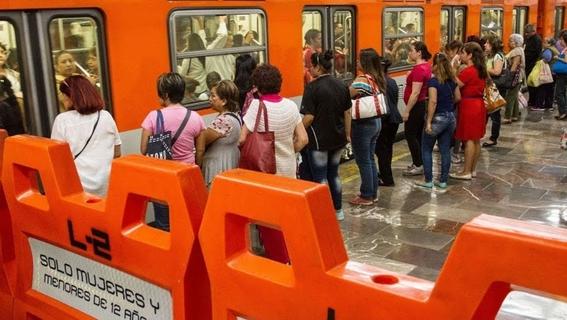 usar el vagon exclusivo opcion de las autoridades para evitar intentos de secuestro en el metro 1