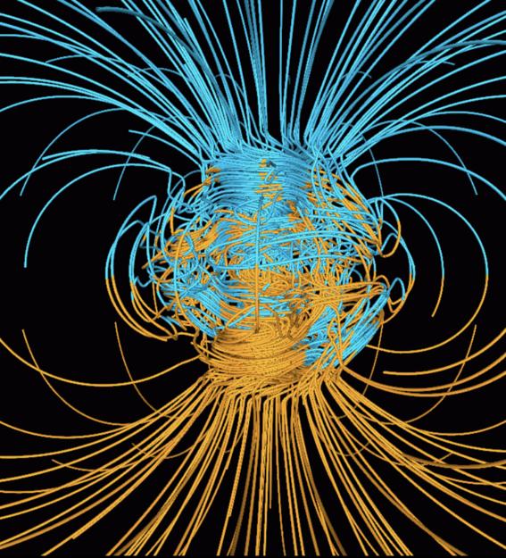 campo magnetico de la tierra estuvo a punto de desaparecer 1