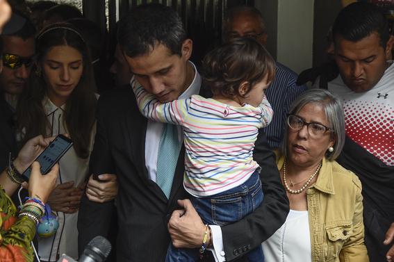 juan guiado nicolas maduro intimidaciones cuerpo elite de seguridad seguridad amenazas guaridas familia guiado oposicion venezuela 1