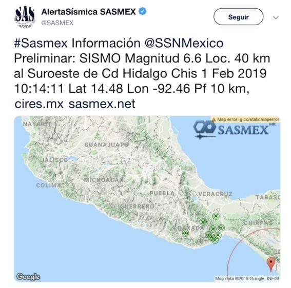 se registra sismo 6 grados richter cerca de chiapas 2