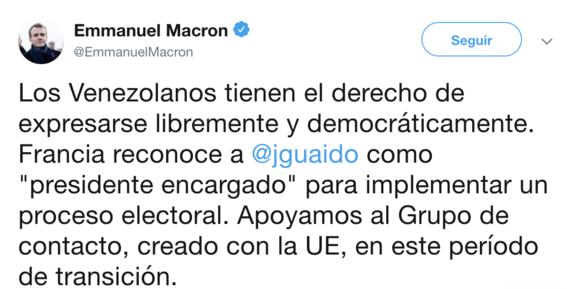 paises de union europea reconocen a guaido frente de venezuela 2