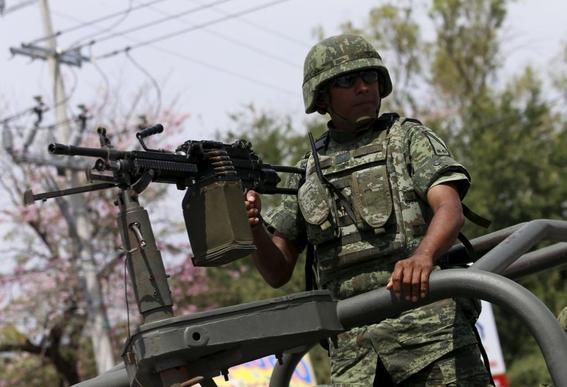 presencia militar aumenta en calles de mexico 1