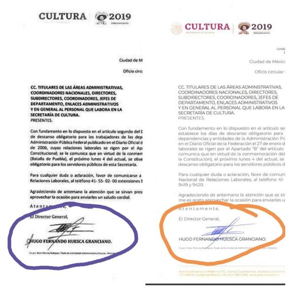 secretaria de cultura confunde fecha de la conmemoracion de la constitucion 3