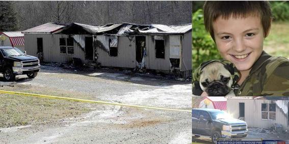 nino muere en incendio intento salvar a su perro 1