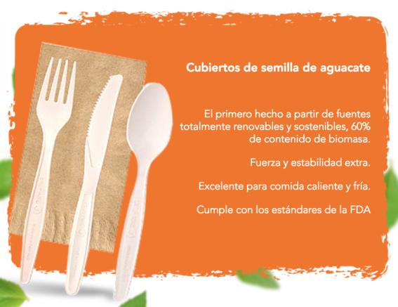 biofase empresa mexicana crea popotes y cubiertos de aguacate 2
