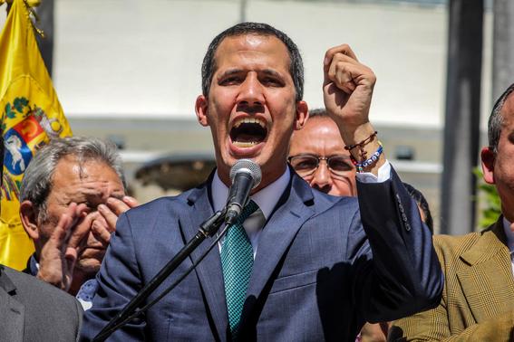 juan guaido en venezuela 1