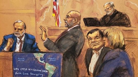 juicio el chapo podria repetirse por irregularidades en jurado 1