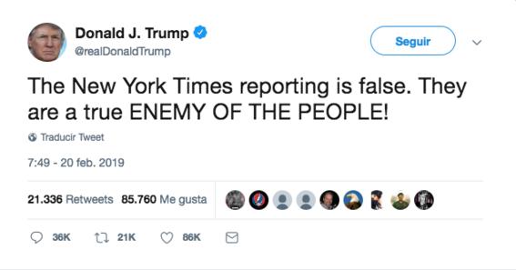 donald trump ataca al new york times 1