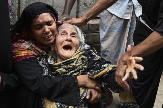 al menos 70 muertos deja un incendio de edificios en bangladesh 1