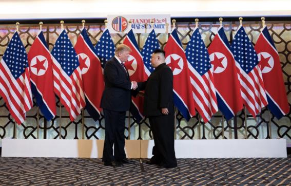 reunion trump kim jong un hablan de desnuclearizacion 1