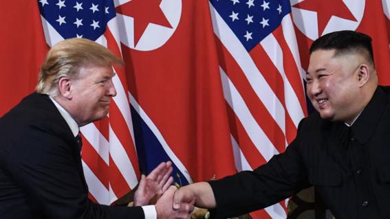 trump se retira sin acuerdo de reunion kim jong un 1
