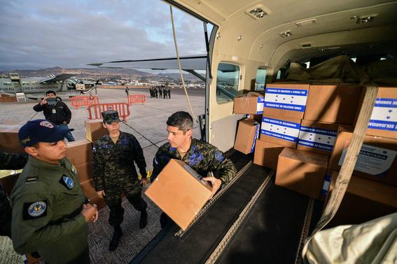ayuda humanitaria de honduras a venezuela 1