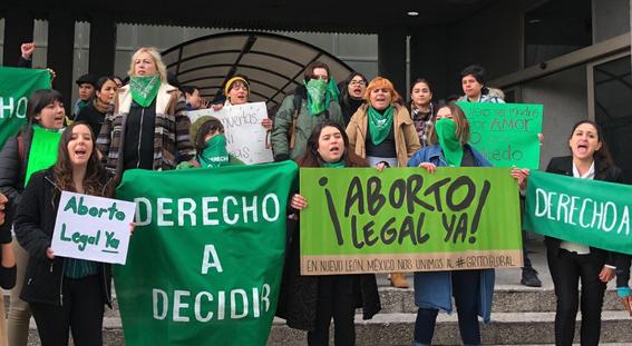 organizaciones se pronuncian a favor de aborto 1