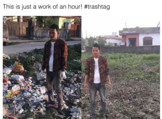 trashtag challenge 1
