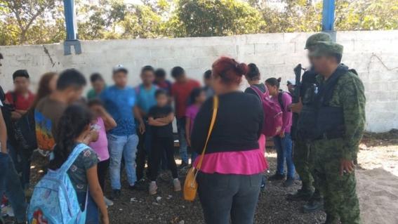 rescatan a migrantes en tamaulipas 2