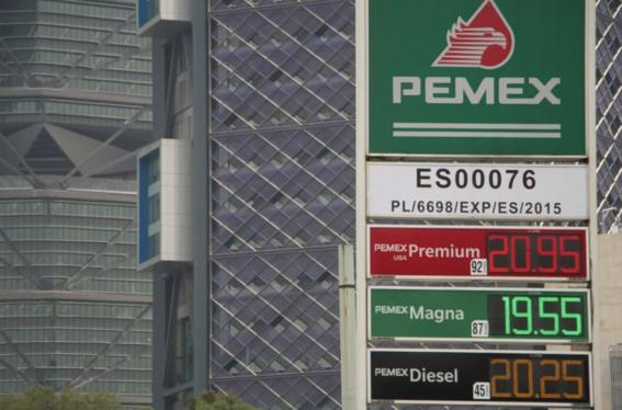 estimulo fiscal a gasolina magna sube de 1 a 15 1