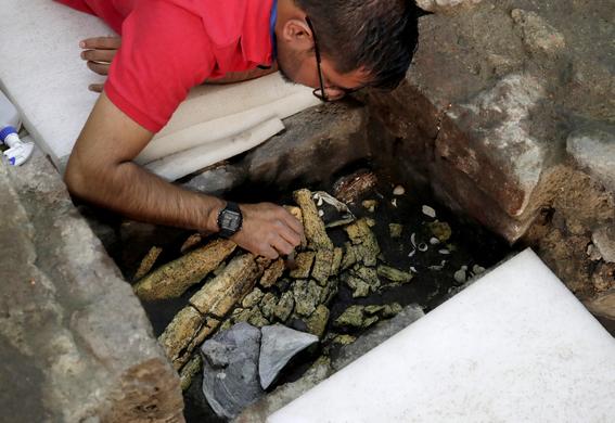 encuentran ofrendas en cdmx que llevarian a tumba de emperador azteca 1