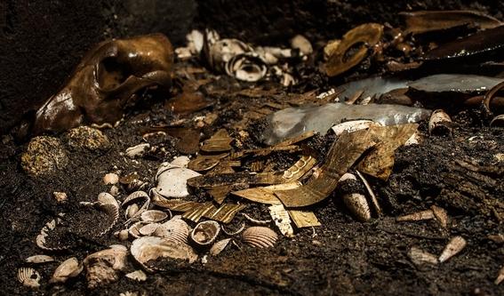 encuentran ofrendas en cdmx que llevarian a tumba de emperador azteca 2
