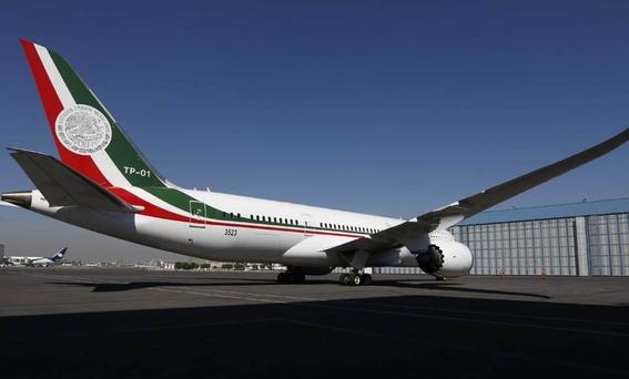 inicia proceso de venta del avion presidencial 1