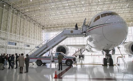 inicia proceso de venta del avion presidencial 2