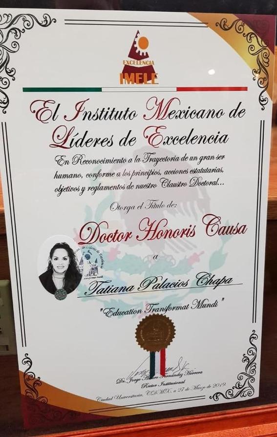 tatiana recibe doctorado honoris causa 1