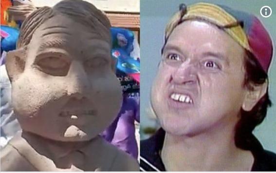 memes del busto de amlo en slp 2