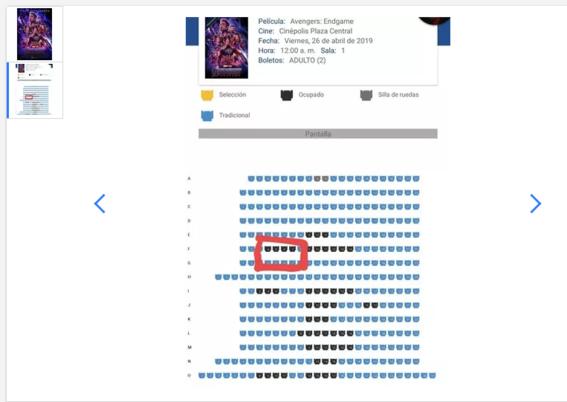 reventa de boletos para avengers endgame en mexico 1