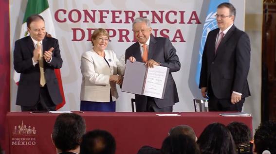 mexico y onu firman acuerdo de derechos humanos para la guardia nacional 1