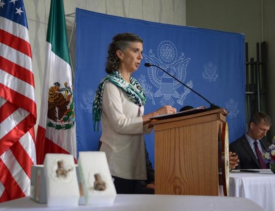 EEUU devuelve a México 2 figuras de la cultura teotihuacana