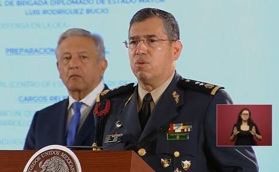 luis rodriguez bucio nuevo comandante de la guardia nacional 2