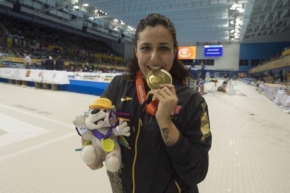 vianney trejo nadadora paralimpica gana 5 medallas en 3 dias 1