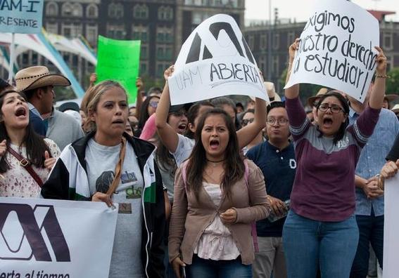 huelga en la universidad autonoma metropolitana 2