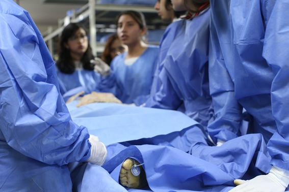 estudiantes de la facultad de medicina 4