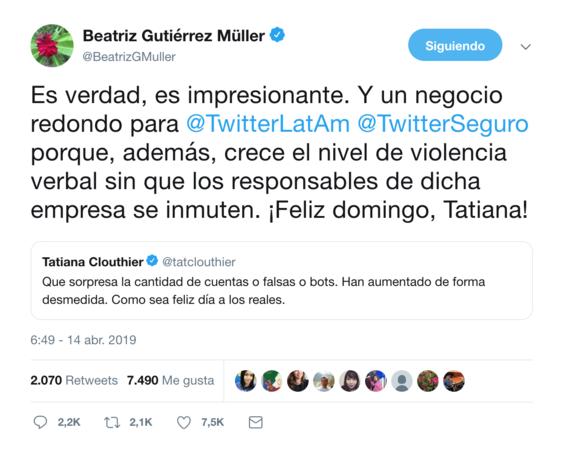 tatiana clouthier y beatriz gutierrez 2